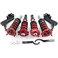 PAO MOTORING Adjustable 36Levels Damper Coilover fit for Acura RSX DC5 2002-2006 Coilover Shock Strut Absorber Kit - Acura Rsx Base
