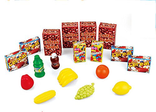 Brigamo 549 – Spielzeug Einkaufswagen inkl. 21 teiligem Warensortiment - 2