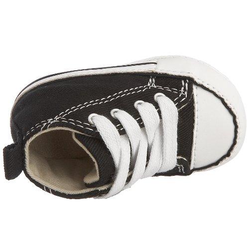 Converse First Star Cvs, Baskets mode mixte bébé Noir