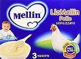 Mellin Liomellin Pollo Liofilizzato 9 VASETTI Da 10 Grammi
