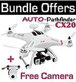 GPS Quadcopter CX-20 AUTO-Pathfinder GPS Control, 6-Axis GYRO RC Drone CX20 RTF + FREE Original Cheerson Camera