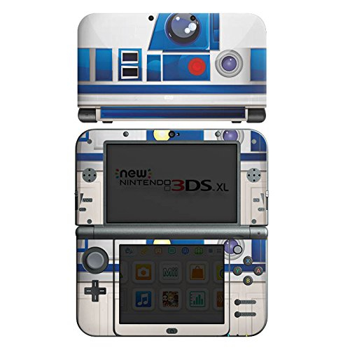 Nintendo New 3DS XL Case Skin Sticker aus Vinyl-Folie Aufkleber Star Wars Merchandise Fanartikel R2D2