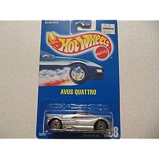 Hot Wheels 1993 - #208 - AVUS QUATTRO (silbermetalic)