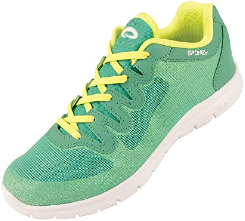 SPOKEY® LIBERATE 1 MUJER Zapatos Corrientes | Zapatos casuales | Zapatos de fitness | Fácil | Transpirable | Cuero...