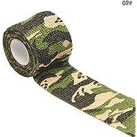 ZYQHY Camouflage Vlies Elastische Bandage Selbstklebend, Elastisches Klebeband, Weit verbreitet in der Medizin... preisvergleich bei billige-tabletten.eu