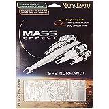 Mass Effect 3D Découpés au laser Modèle Normandie Sr2 Mass Effect 3D Laser-Cut Model Normandy Sr2