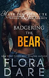 Badgering the Bear: A Paranormal Shifter Romance (Mate in a Minute Speed Mating Agency Book 1) (English Edition)