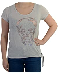T-shirt Le Temps Des Cerises Skullana Light ash Grey