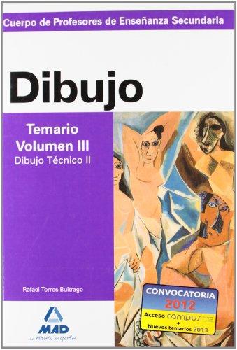 Cuerpo de profesores de enseñanza secundaria. Dibujo. Temario. Volumen iii. Dibujo técnico ii - 9788466578899 por Isabel Garcia Lucas