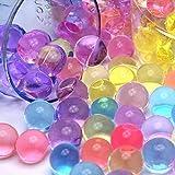 Wuiyepo 5000pcs Clear Water Perlen Pflanze Blume Crystal Boden Vase Hochzeit Dekoration (colour mixture)