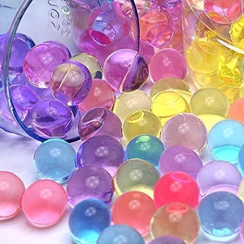 Wuiyepo 5000pcs Perlas de Clear Water Plant Crystal boda de la flor del suelo Jarrón Decoración (colour