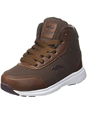 KangaROOS Unisex-Kinder Navi Hohe Sneaker