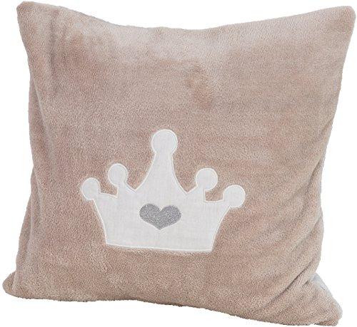 Preisvergleich Produktbild Smithy Kissenbezug Krone sand, 40x40 cm