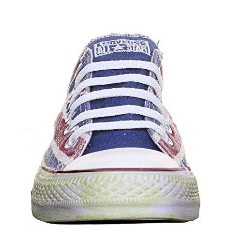 Converse, All Star OX Canvas Graphics, Sneaker, Unisex - adulto Multicolor