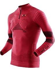 X-Bionic Herren Trail Running Man Effektor Ow Shirt Lg_sl. Zip-Up Laufhemd