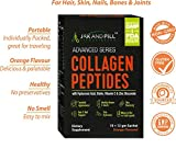 JAK AND PILL Advanced Series Collagen Peptide Powder with Hyaluronic Acid, Biotin