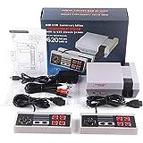 Urhause TV Spielekonsolen für Kinder Erwachsene, NES Mini-Spielekonsole Retro Spielekonsole Eingebaute 620 Klassische…