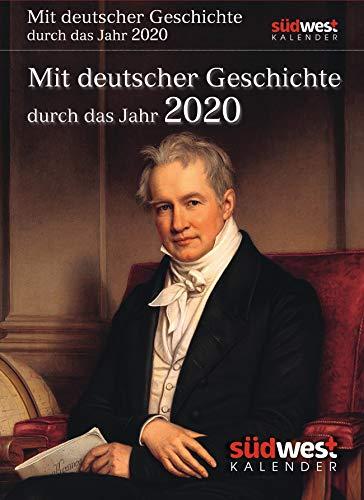 Mit deutscher Geschichte durch das Jahr 2020 Tagesabreißkalender