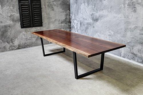 Esstisch/Konferenztisch'Minimalist' - Massivholz (Mahagoni)