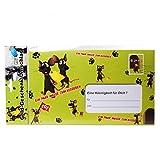 Riesen Umschlag Ein paar Mäuse zum Ausgeben für Geldgeschenke Party Deko