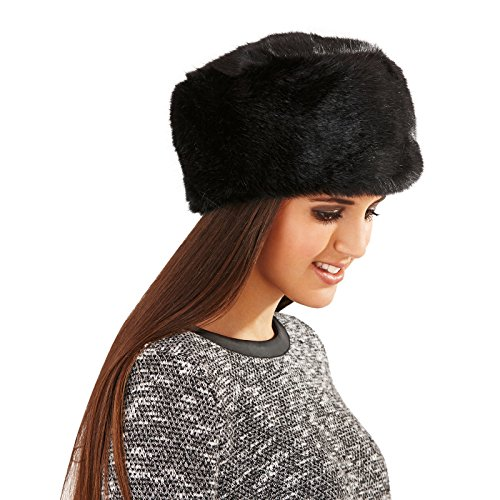 Lora Dora Womens Ladies Luxury Faux Fur Russian Cossack Ushanka Style