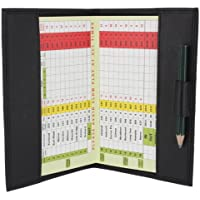 Porta Tarjeta de Puntuación de Golf de Cuero Suave 2315
