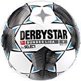 Derbystar Kinder Bundesliga Magic Light Fußball, weiß schwarz blau, 4
