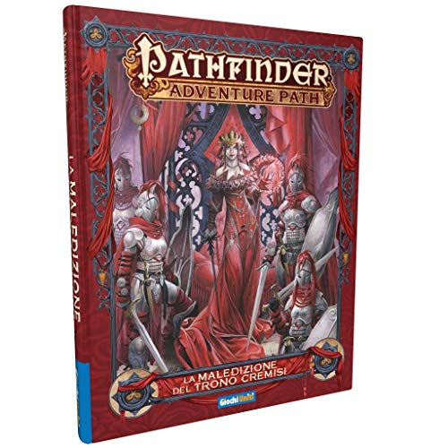 Giochi Uniti SRL- Pathfinder Gioco di Ruolo: La Maledizione del Trono  Cremisi, Colore Illustrato, GU3167
