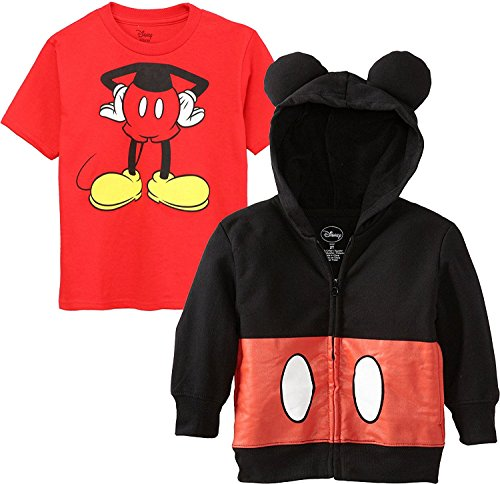 Disney Mickey Mouse Costume Hoodie T-Shirt Set