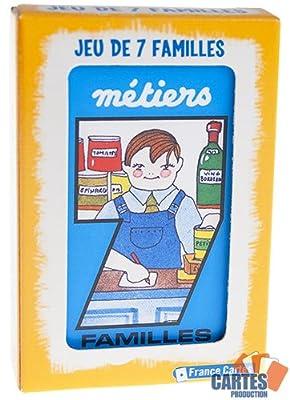 "Jeu de 42 cartes : 7 Familles ""Métiers"""