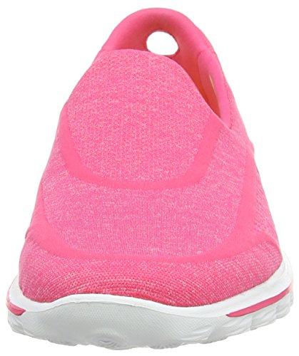 Skechers GO Walk 2Super Sock Damen Walkingschuhe Rosa (Pnk)