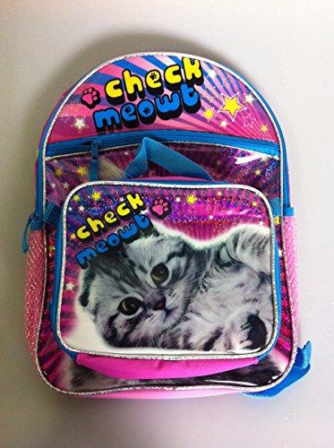 Global Design Concepts Check Meowt Kitty Backpack and Lunch Bag Set by Global Design Concepts