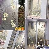 RENQINGLIN Toilette Milchglas Film Licht Undurchsichtigen Badezimmer Badezimmer Tür Fenster Balkon Fenster Aufkleber 60 Cm*2 M, E