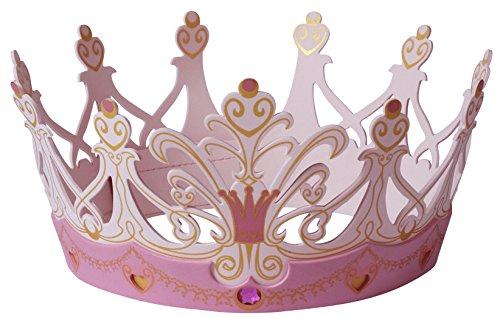Angel Kostüm Gold - Liontouch 25107LT Schaumstoff Krone, Königin Rosa | Teil eines Kostüms für Kinder