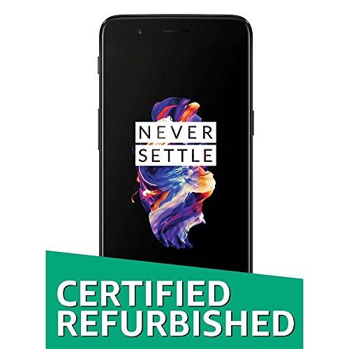 (Certified Refurbished) OnePlus 5 (Slate Grey, 64GB)