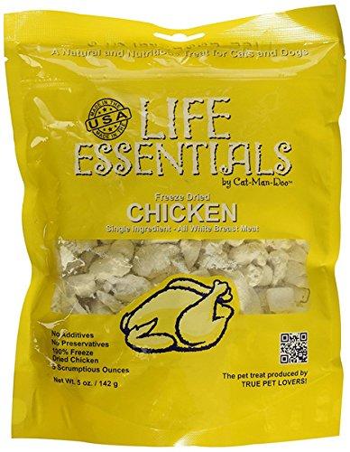 Catmandoo-Cat-Mann-Doo-Life-Essentials-Gefriergetrocknet-Hhnerwrfel-Cats-Dogs-Leckereien-Nahrungs-5-Unzen