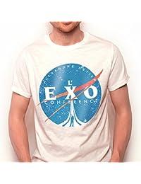 T-Shirt officiel de L'Exoconférence d'Alexandre Astier - Homme, manches courtes