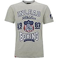 Everlast Herren T-shirt S M L Xl 2xl 3xl 4xl Tee Top Boxing Boxen Sport Neu T-shirts