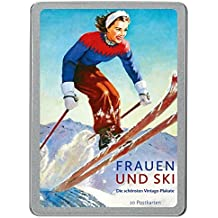 Frauen und Ski: Die schönsten Vintage-Plakate