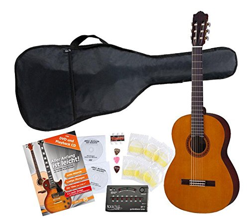 Yamaha C40 Konzertgitarre SET inkl. Zubehörset + Tuner