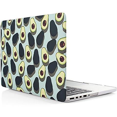 iDOO MacBook Schutzhülle / Hard Case Cover Laptop Hülle [Für MacBook Pro 13 Zoll mit Retina Display - ohne CD-Laufwerk: A1425/A1502] - matt, Avocados