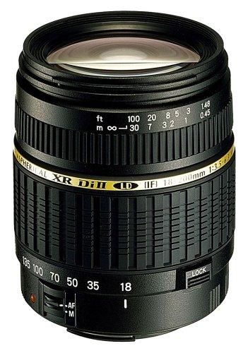 Tamron AF 18-200mm F/3.5-6.3 XR Di II LD Aspherical (IF) Macro digitales...