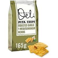 Caminantes Market Deli ajo y hierbas Pita Chips de 165g