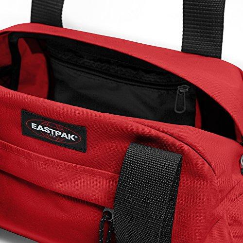 Eastpak Reisetasche COMPACT, 23 liter, 23 x 45.5 x 20 cm, Black Apple Pick Red