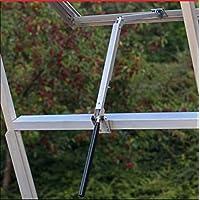 Yosoo, abridor de ventanas automático sensible al calor para invernaderos (capacidad de elevación 7 kg, altura de elevación 45 cm)
