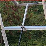 Yosoo Solare Wärme Empfindliche Automatischer Fensteröffner für Gewächshäuser und Gartenhäuser (7kg/15lb Hubkraft, 45cm Hubhöhe)