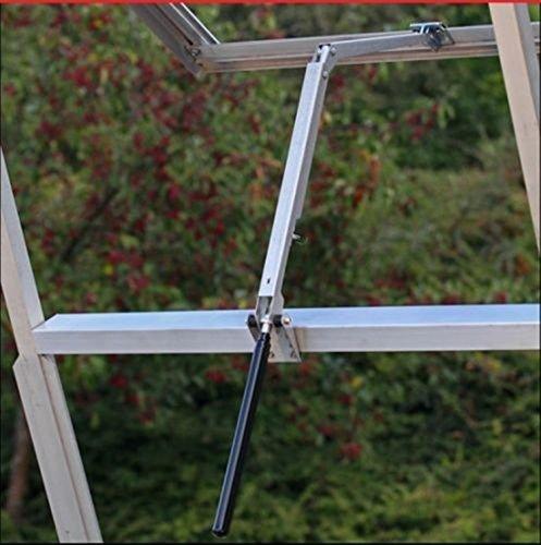 Yosoo Solare Wärme Empfindliche Automatischer Fensteröffner für Gewächshäuser und Gartenhäuser (7kg/15lb Hubkraft, 45cm Hubhöhe) -