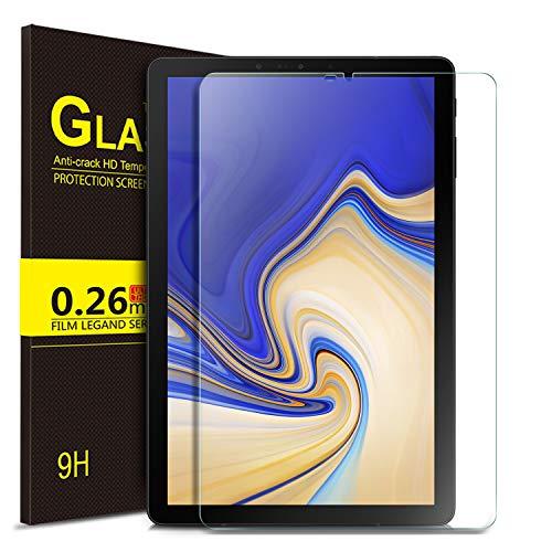 ELTD Glas Bildschirmsfolie für Samsung Galaxy Tab S4 T830/T835, Ro&ed Corners 2.5D, 9H Härte, gehärtetes Glas Bildschirmschutz Glasfolie Panzerfolie für Samsung Galaxy Tab S4 T830/T835 10.5 Zoll (1 Stück)