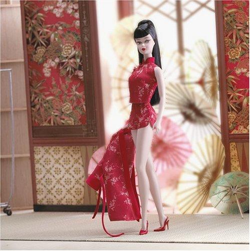 Barbie Sammlerstücke Fashion Modell Silkstone: Red Moon chinoserie Barbie (Barbie-sammlerstücke)