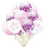 Provide The Best 15pcs 12inch Confetti Balloon Baby Shower di Compleanno della Decorazione di Cerimonia Hen Eventi Articoli per Feste Kid Fai da Te Balloon